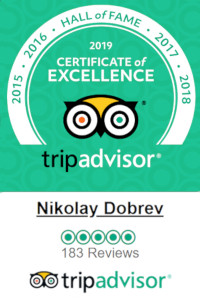 Nikolay Dobrev Wellness TripAdvisor Certificate Hall Of Fame